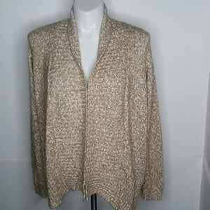 Croft&Barrow open front cardigan size 3X